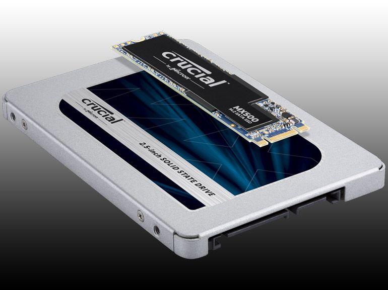 Test du SSD Crucial MX500 : une valeur sûre