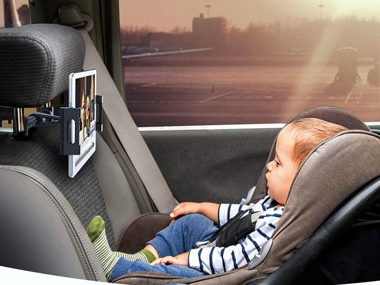 Bon plan : un support de tablette ou smartphone pour appui-tête de voiture à 8,99€