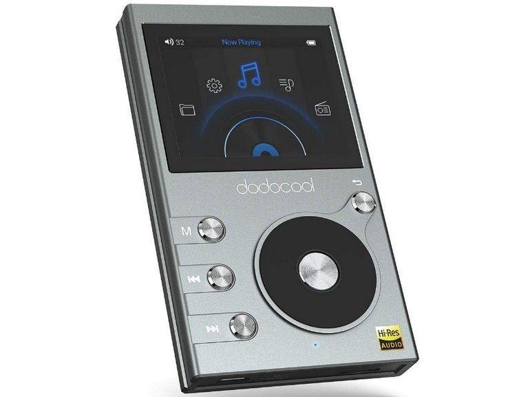 Amazon : le baladeur audiophile Hi-Res Dodocool 8 Go à 42 euros !