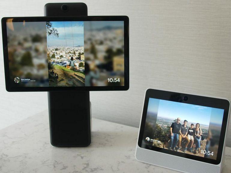 Portal et Portal + : prise en main des écrans connectés de Facebook