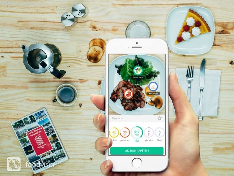 Foodvisor, l'application qui analyse votre assiette et indique le nombre de calories que vous mangez