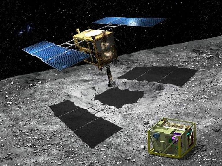 Explorez l'astéroïde Ryugu en images avec le vaisseau spatial japonais Hayabusa 2