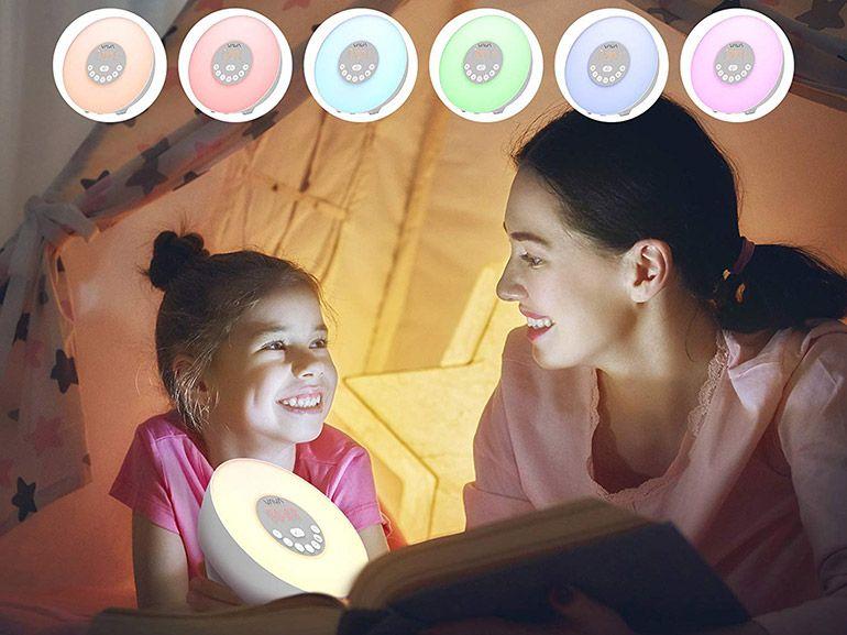 Bon plan : un réveil à Led tactile multi-couleurs avec alarme progressive à 9,74€