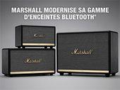 Acton II, Stanmore II, Woburn II : Marshall renouvelle ses enceintes Bluetooth