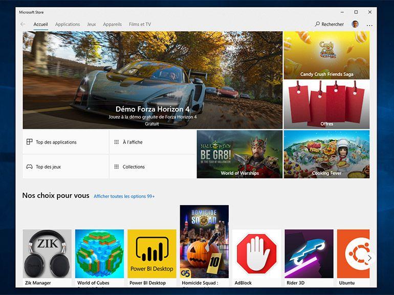 """Microsoft Store : l'option """"Acheter en cadeau"""" disponible pour les applications"""