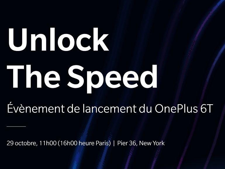 OnePlus 6T : comment suivre la conférence de présentation en direct ?