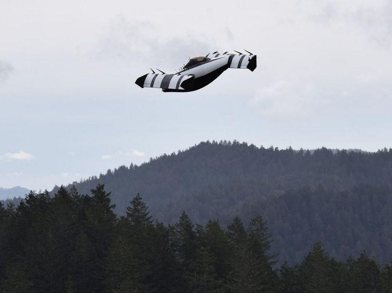La « voiture volante » financée par le patron de Google Larry Page, sera commercialisée en 2019