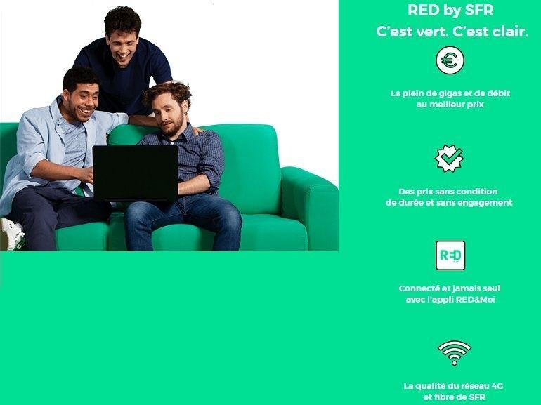 RED by SFR : box Fibre et forfaits mobiles, les bons plans de la semaine