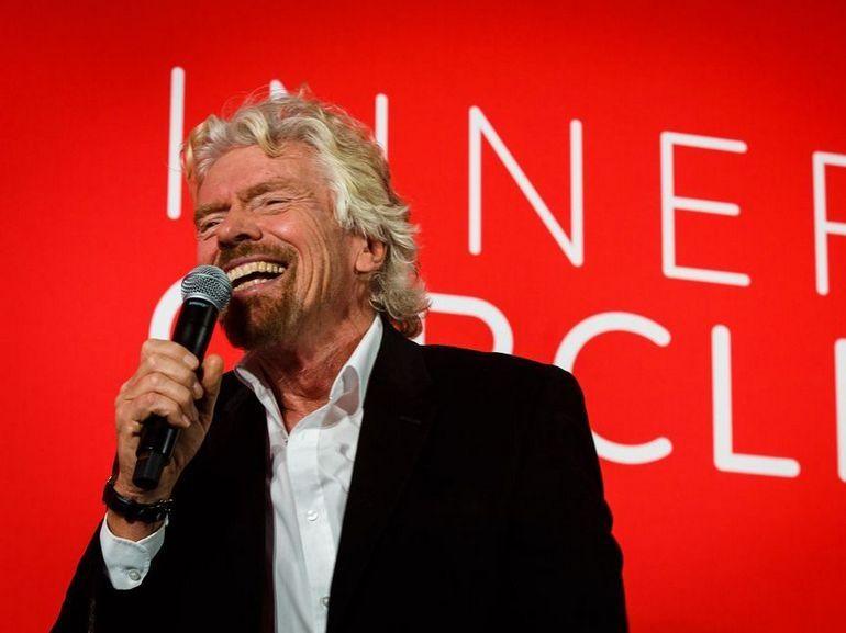 Richard Branson démissionne de son poste de président de Virgin Hyperloop One