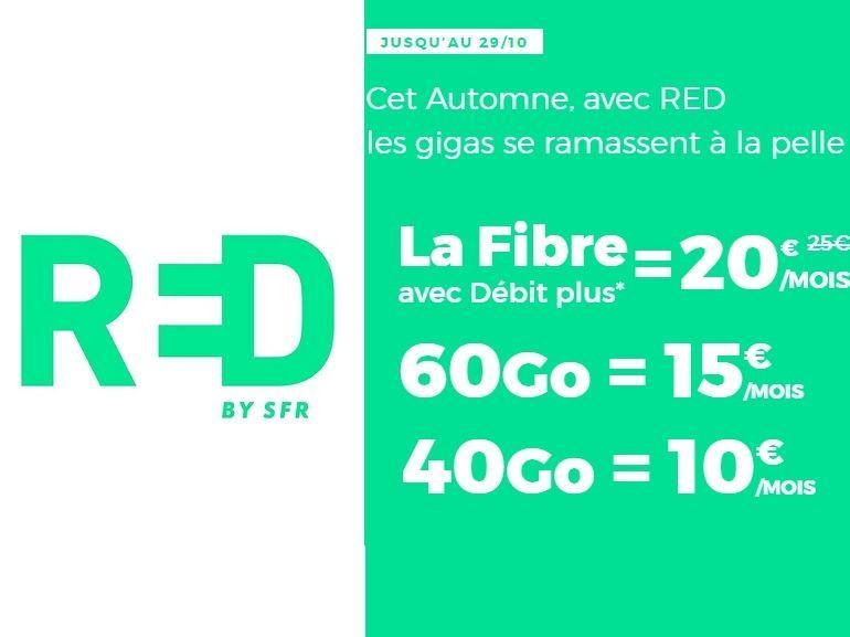 RED by SFR : forfaits mobiles et box Internet, on fait le tri sur les promos de la semaine