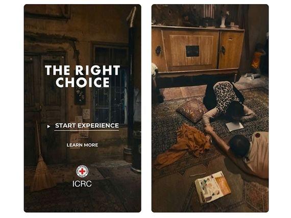 La Croix Rouge s'essaye à la réalité virtuelle pour sensibiliser le public