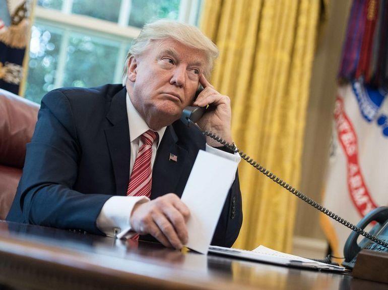 L'iPhone personnel de Donald Trump aurait été mis sur écoute par la Chine et la Russie