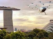 Des taxis volants autonomes testés à Singapour en 2019