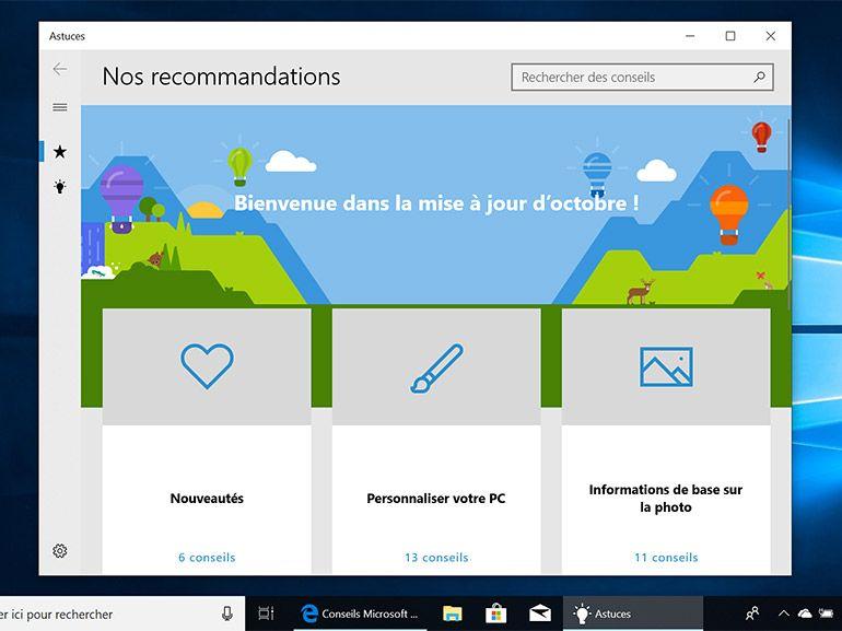 Windows 10 (1809) : la mise à jour d'octobre est à nouveau disponible pour le grand public