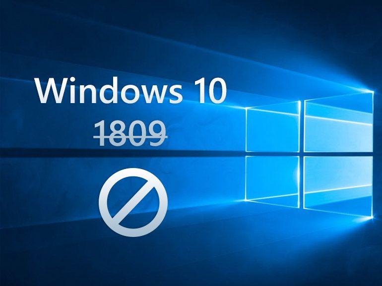 Windows 10 1809 : trop de bugs, la mise à jour d'octobre est suspendue