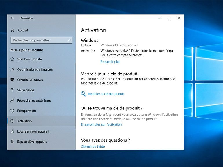 Windows 10 : Microsoft corrige en urgence le bug d'activation des licences