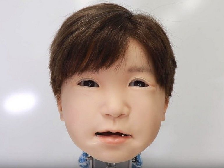 Affetto, la tête de l'enfant robot qui nous fait flipper