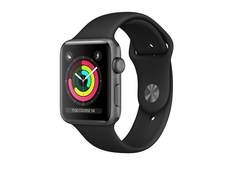 Bon plan : Apple Watch Series 3 (42 mm) à 289 euros au lieu de 309
