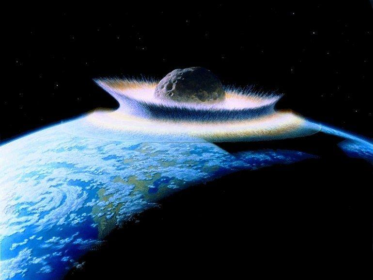 Un impact massif d'astéroïdes découvert sous la calotte glaciaire au Groenland