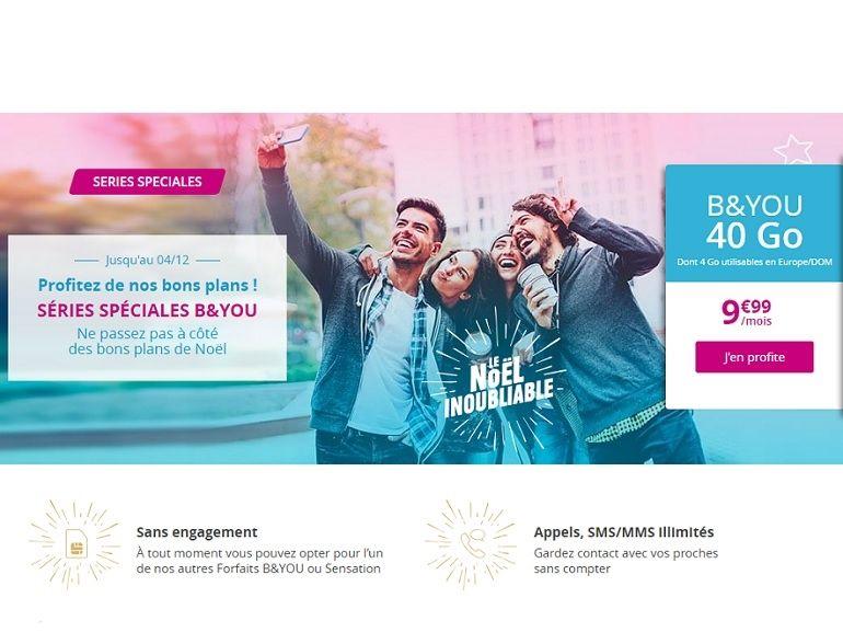Les forfaits mobiles en promo de Bouygues / B&You prendront fin ce mardi
