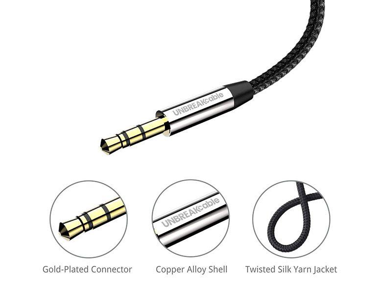 Bon plan : un câble jack 3.5 de 2M de qualité et ultra résistant à 5,24€