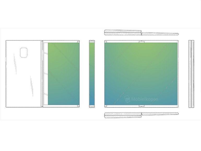 Samsung : un brevet de tablette pliable en trois parties se dévoile