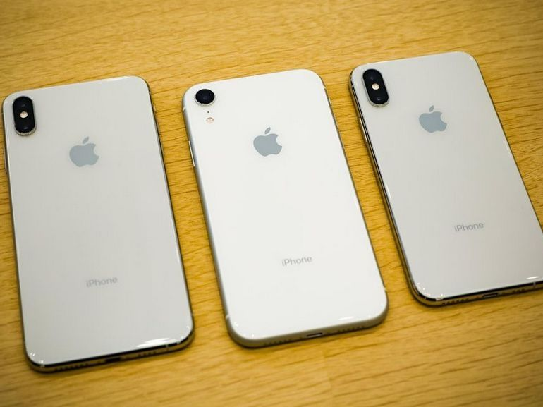 Apple aurait réduit ses commandes d'iPhone Xs, Xs Max et Xr