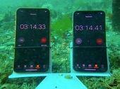 Des iPhone XS et XR plongés à 8 mètres. Un seul a survécu…
