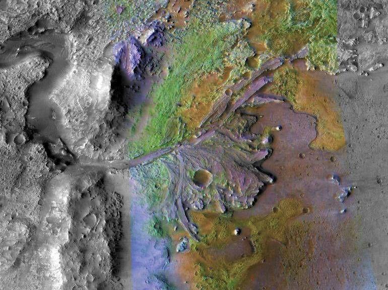 Mars 2020 : la Nasa a choisi le cratère Jezero pour poser son rover
