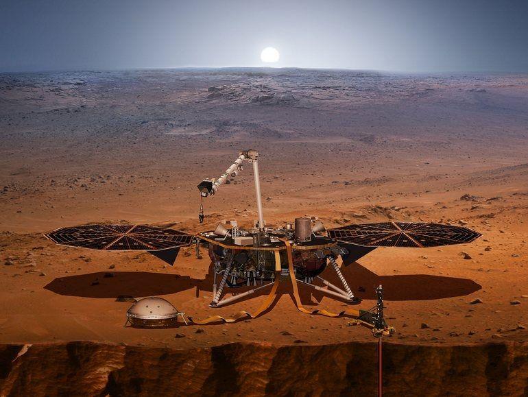 Mission InSight : la Nasa diffusera l'atterrissage sur Mars