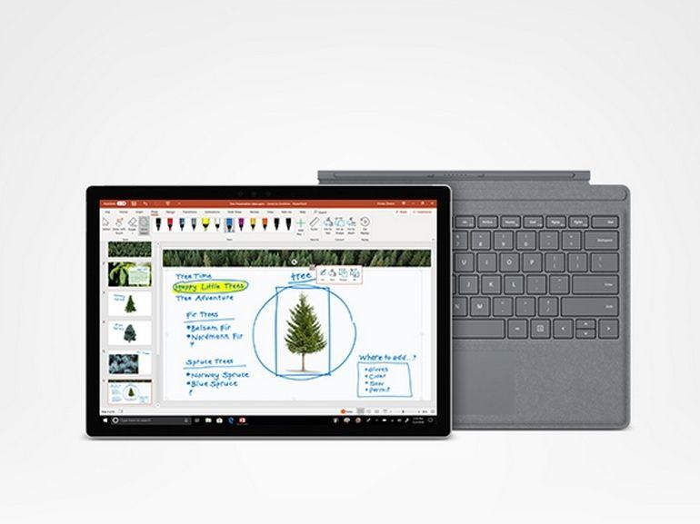 Microsoft : économisez 429 euros sur le pack Surface Pro et son clavier