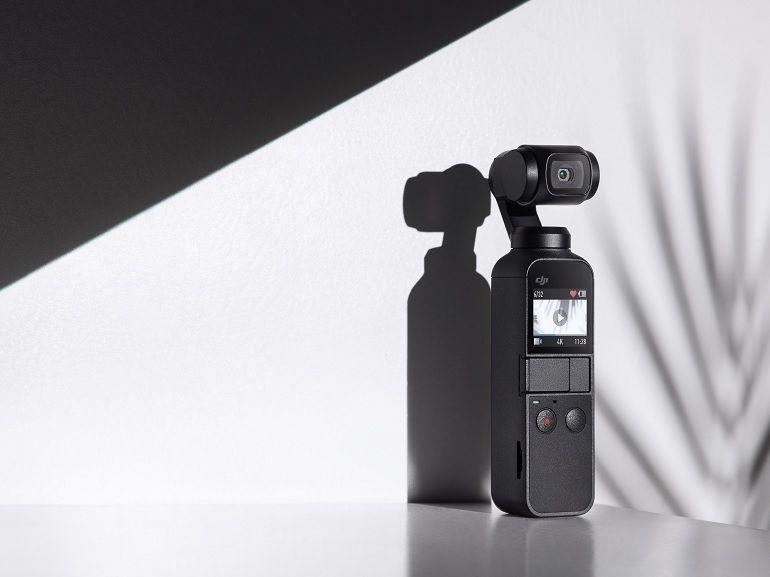 DJI dévoile sa OSMO Pocket, une caméra compacte stabilisée sur trois axes