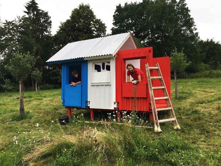 Tiny House : une maison à 1000€ construite en 3 heures ?