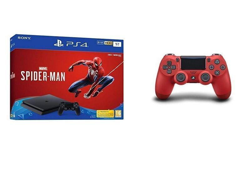 Black Friday : PS4 Slim 1 To + Spider Man + Manette supplémentaire à 299 euros chez Amazon