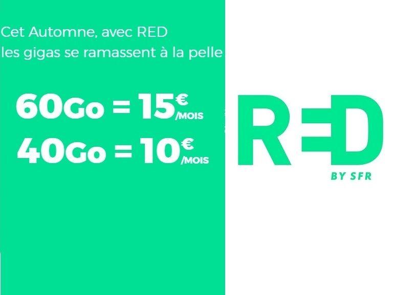 RED by SFR : forfaits mobiles et box Internet, notre sélections des promos du week-end
