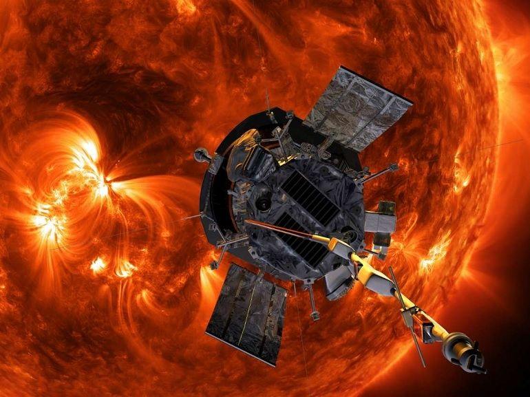 Une sonde de la NASA s'approche au plus près du Soleil et bat un nouveau record