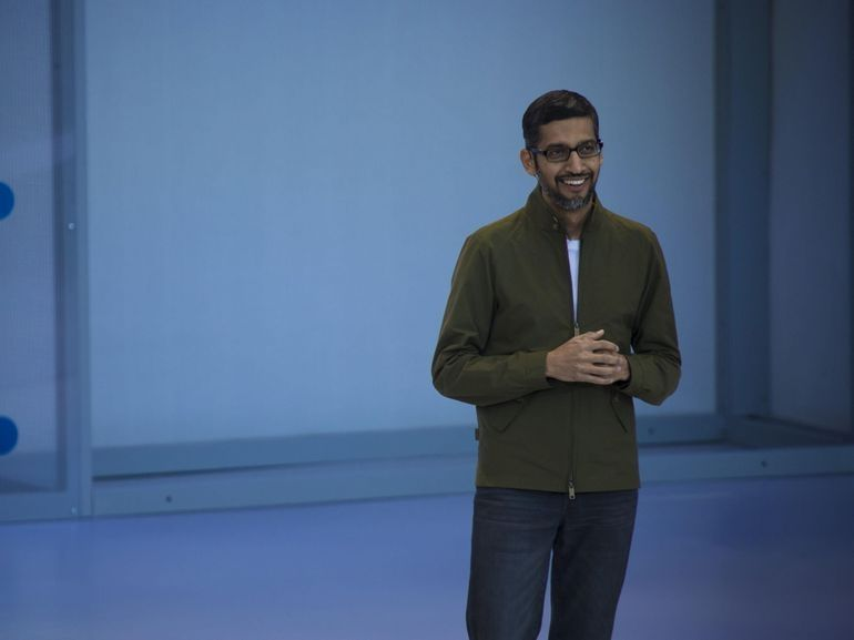 Le P-DG de Google, Sundar Pichai, témoignera devant le Congrès US le 5 décembre