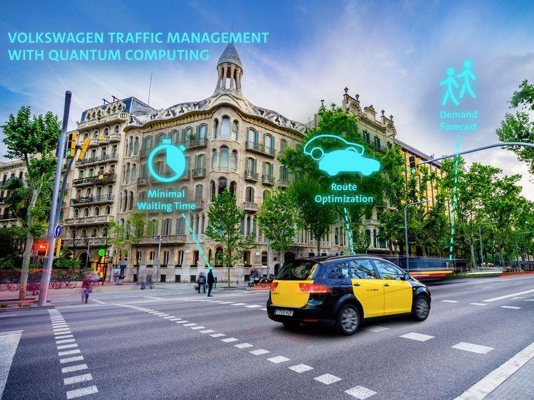 Volkswagen veut utiliser un ordinateur quantique pour la gestion du trafic routier