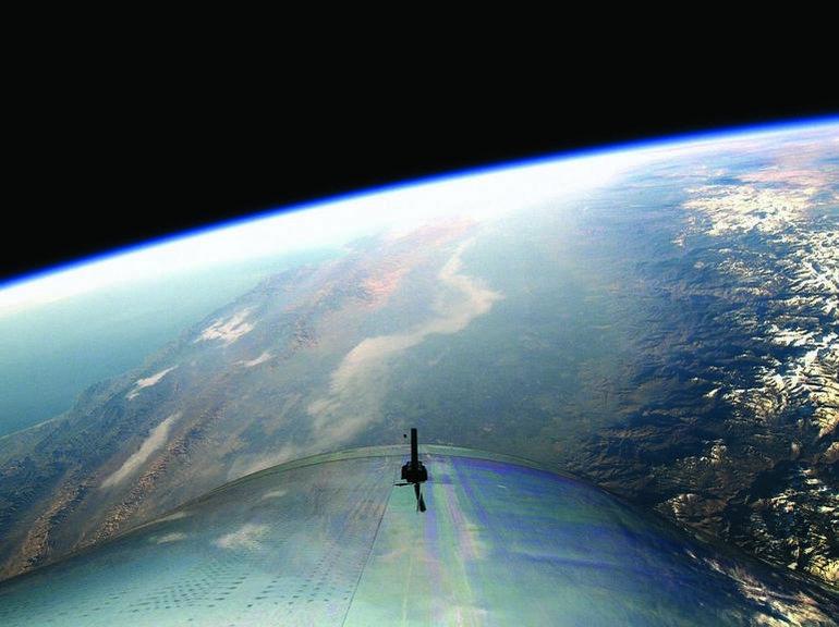 Le SpaceShipTwo de Virgin Galactic réussit son premier vol d'essai dans l'espace