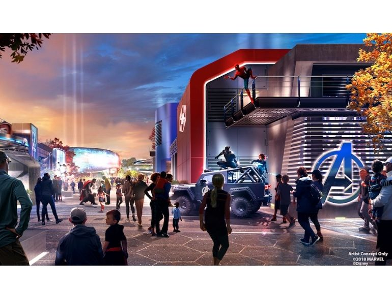 Disneyland Paris : le nouveau Land Marvel se montre un peu