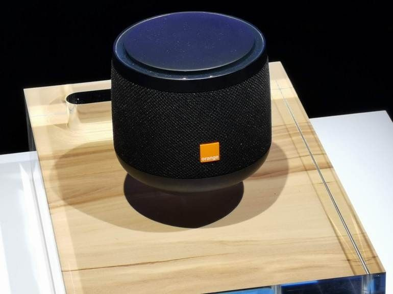 "Djingo Speaker : Orange annonce un assistant vocal ""made in Europe"" au Show Hello"