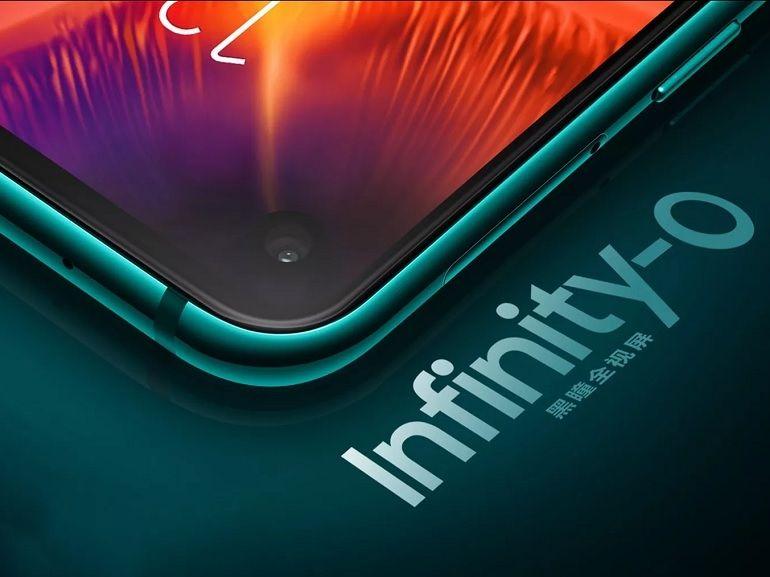 Le Galaxy A8s est officiel, le premier smartphone avec une découpe circulaire dans l'écran