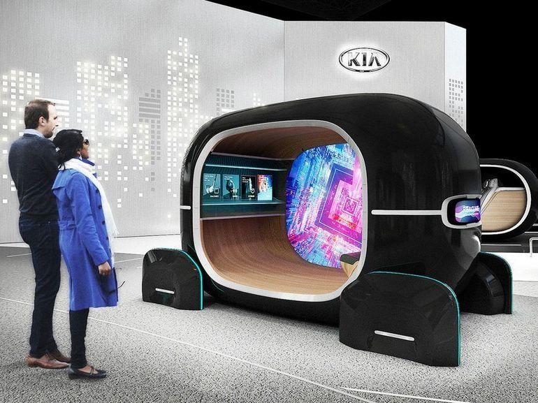CES 2019 : Kia et le MIT présenteront un habitacle de voiture qui s'adapte à votre humeur