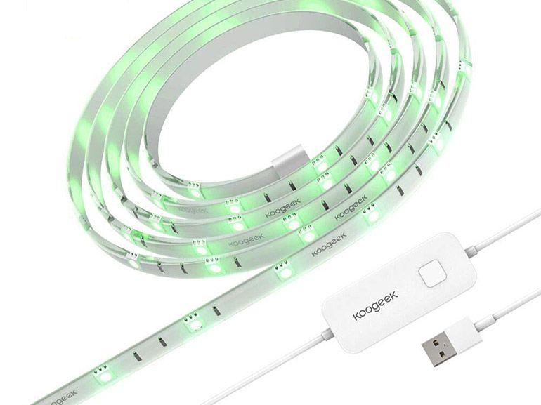 Test du ruban lumineux connecté Koogeek : un gadget amusant, utile ou décoratif