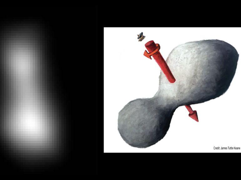 La sonde New Horizons a réussi son survol de l'astéroïde Ultima Thule