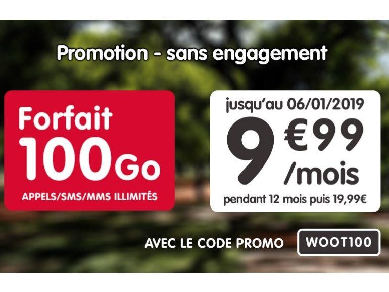 NRJ Mobile : le forfait mobile 100 Go est à moins de 10€ jusqu'au 6 janvier