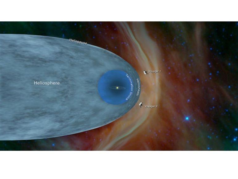 Après un périple de plus de 18 milliards de kilomètres, la sonde Voyager 2 atteint l'espace interstellaire