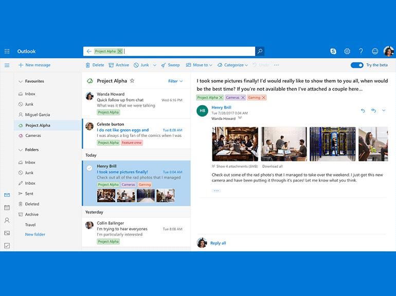 Outlook.com : Microsoft déploie la nouvelle interface pour tous