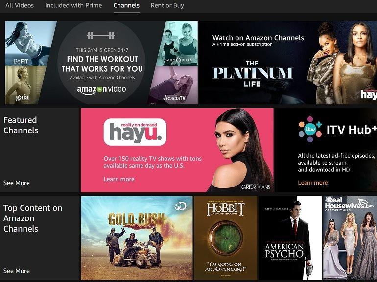 Le bouquet TV Amazon Channels bientôt disponible en France ?