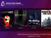 Amazon Prime permet de profiter de jeux gratuits tous les mois